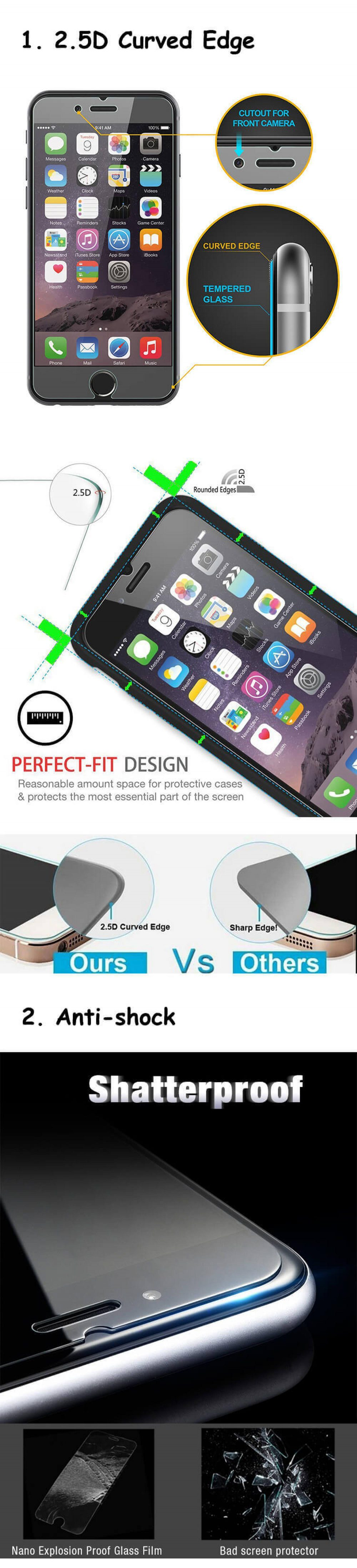 Vivo V11 Pro Tempered Glass Screen Protector Scratch Resistant | Full Edge  To Edge Cover | From Manufacturer